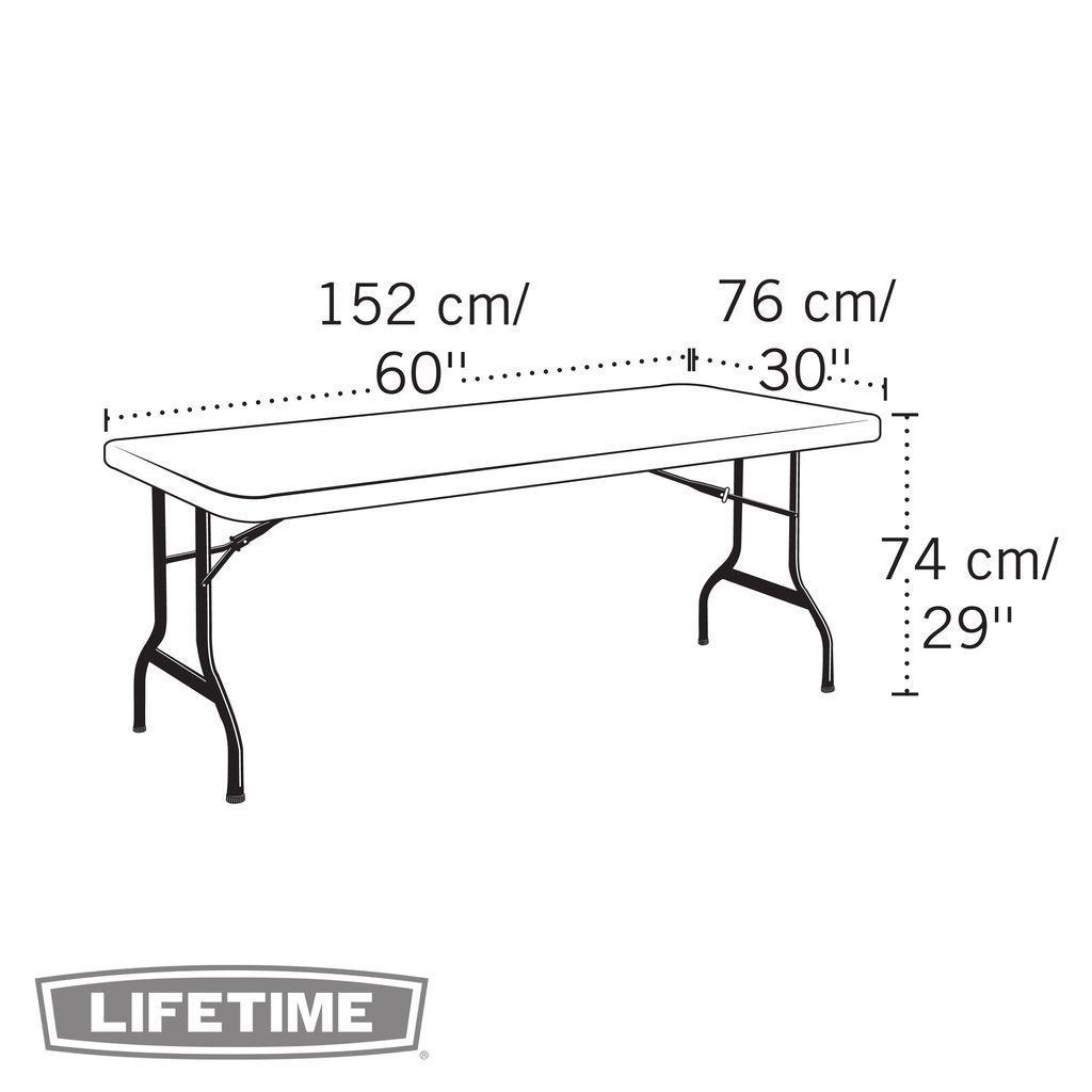 COMMERCIAL FOLDING BANQUET TABLE Cm X Cm Tablesandchairsgr - Banquet table dimensions